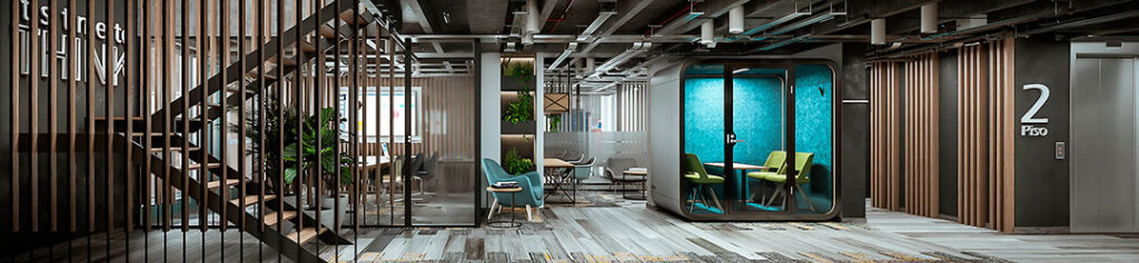 Coworking del proyecto on/off offices